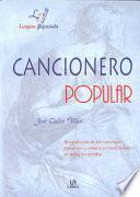 Libro de Cancionero Popular