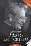 Libro de Recuerdo De Álvaro Del Portillo. Prelado Del Opus Dei