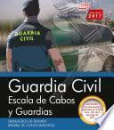 Libro de Guardia Civil Escala De Cabos Y Guardias. Simulacros De Examen (prueba De Conocimientos)