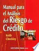 Libro de Manual Para El Análisis Del Riesgo De Crédito