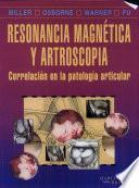 Libro de Resonancia Magnética Y Artroscopia