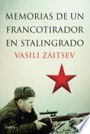 Libro de Memorias De Un Francotirador En Stalingrado