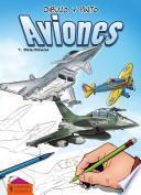 Libro de Dibujo Y Pinto Aviones