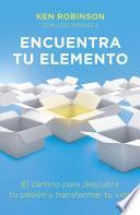 Libro de Encuentra Tu Elemento (finding Your Element)
