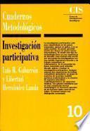 Libro de Investigación Participativa