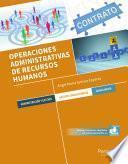 Libro de Operaciones Administrativas De Recursos Humanos