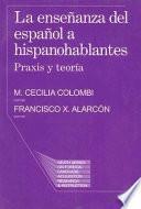 Libro de La Enseñanza Del Español A Hispanohablantes