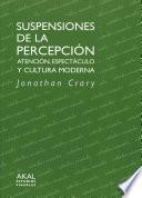 Libro de Suspensiones De La Percepción