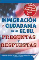 Libro de Inmigración Y Ciudadanía En Los Ee.uu.