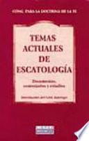 Libro de Temas Actuales De Escatología