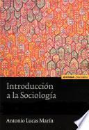 Libro de Introducción A La Sociología