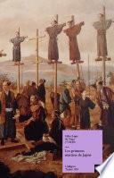 Libro de Los Primeros Mártires De Japón