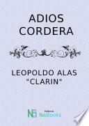 Libro de Adios Cordera
