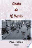 Libro de Gente De Mi Barrio