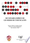 Libro de Diccionario Jurídico De Los Medios De Comunicación