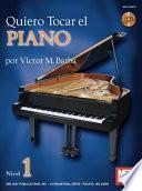 Libro de Quiero Tocar El Piano