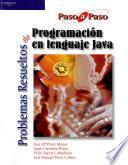 Libro de Problemas Resueltos De Programación En Lenguaje Java