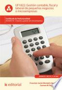 Libro de Gestión Contable, Fiscal Y Laboral De Pequeños Negocios O Microempresas. Adgd0210