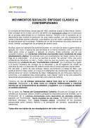 Libro de Movimientos Sociales: Enfoque ClÁsico Vs ContemporÁneo