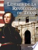 Libro de Líderes De La Revolución De Texas