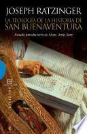 Libro de La Teología De La Historia De San Buenaventura