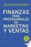 Libro de Finanzas Para Profesionales De Marketing Y Ventas