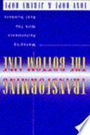 Libro de Transformar La Cuenta De Resultados