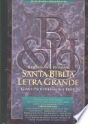 Libro de Broadman Y Holman Santa Biblia Letra Grande