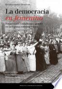 Libro de La Democracia En Femenino