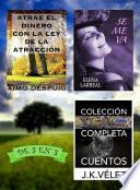 Libro de Atrae El Dinero Con La Ley De La Atracción + Se Me Va + Colección Completa Cuentos