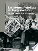Libro de Las Normas Jurídicas De Los Periodistas