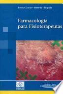 Libro de Farmacología Para Fisioterapeutas