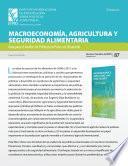 Libro de Sinopsis, Macroeconomía, Agricultura Y Seguridad Alimentaria