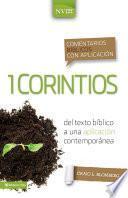 Libro de Comentario Bíblico Con Aplicación Nvi 1 Corintios
