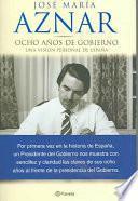 Libro de Ocho Años De Gobierno