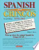 Libro de Spanish For Gringos