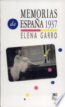Libro de Memorias De España 1937