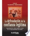 Libro de La Defraudación De La Confianza Legitima