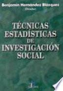 Libro de Técnicas Estadísticas De Investigación Social