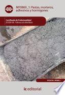 Libro de Pastas, Morteros, Adhesivos Y Hormigones. Eocb0108