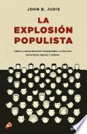 Libro de La Explosión Populista