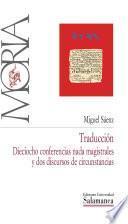 Libro de Traducción: Dieciocho Conferencias Nada Magistrales Y Dos Discursos De Circunstancias
