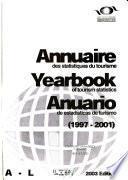 Libro de Annuaire Des Statistiques Du Tourisme