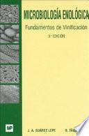 Libro de Microbiología Enológica