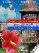 Libro de Colección De Hermosos Poemas Clásicos De Puerto Rico