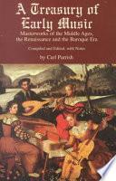 Libro de Treasury Of Early Music