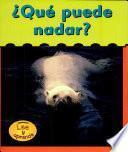 Libro de Qué Puede Nadar?