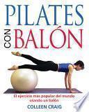 Libro de Pilates Con Balón