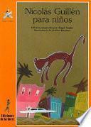 Libro de Nicolás Guillén Para Niños