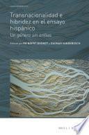 Libro de Transnacionalidad E Hibridez En El Ensayo Hispánico